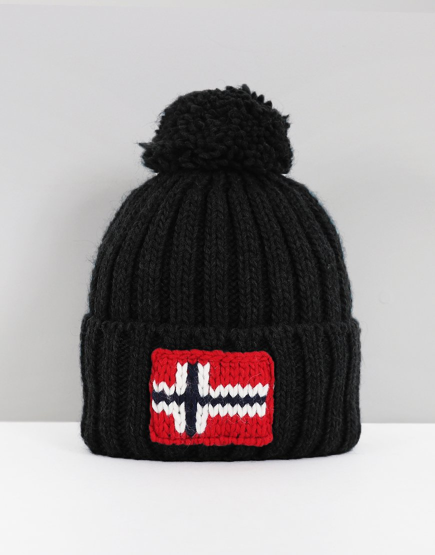 Napapijri Semiury Bobble Hat    Black