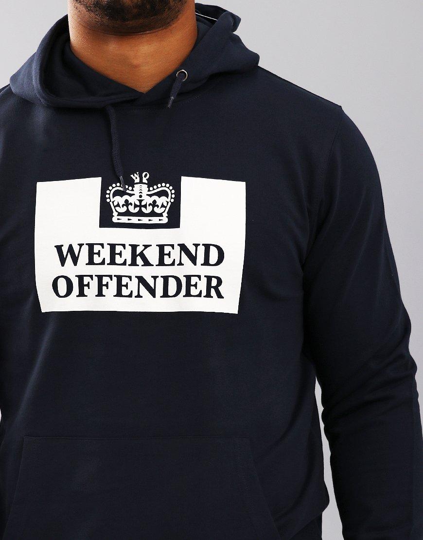 Weekend Offender HM Service Hoodie Navy