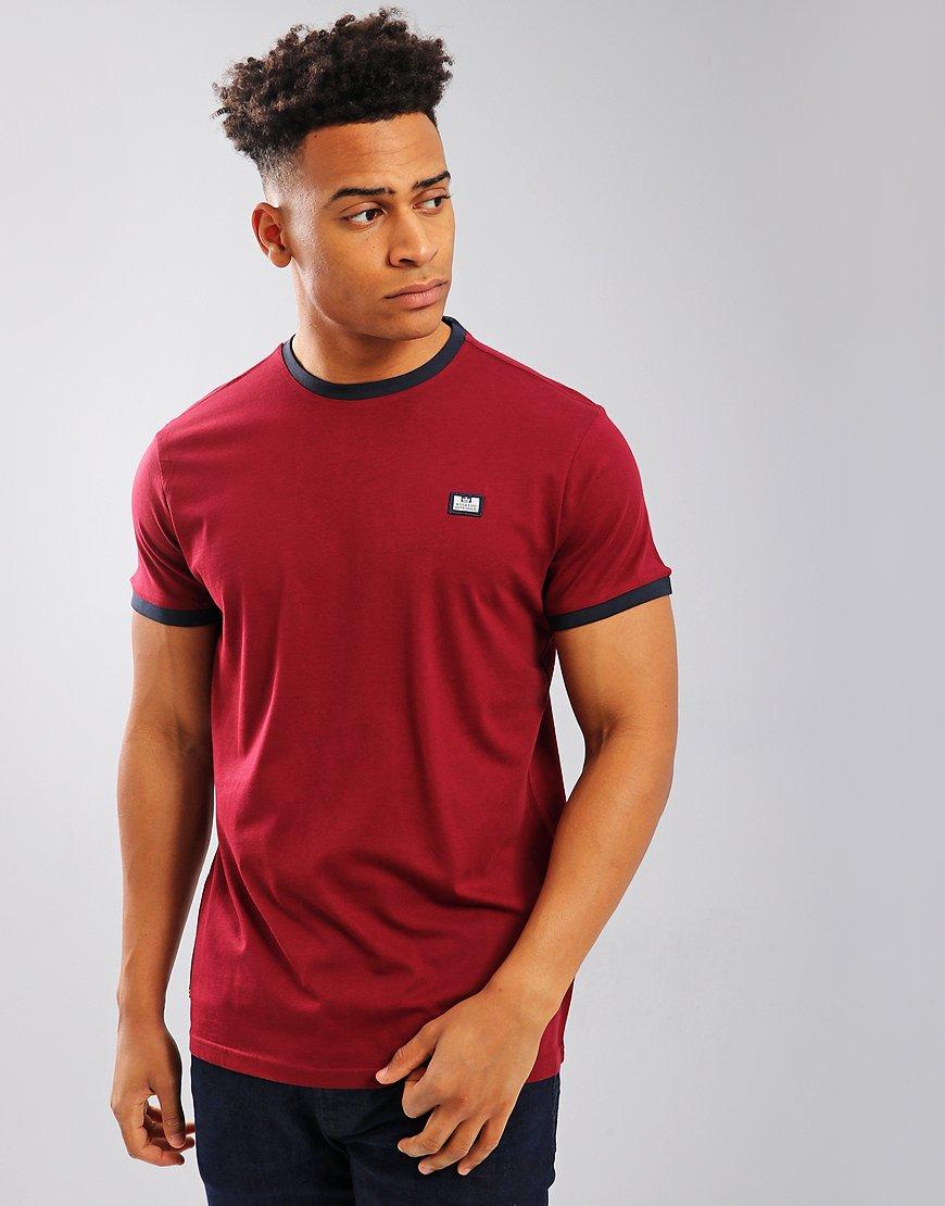 Weekend Offender Scheter T-Shirt  Garnet