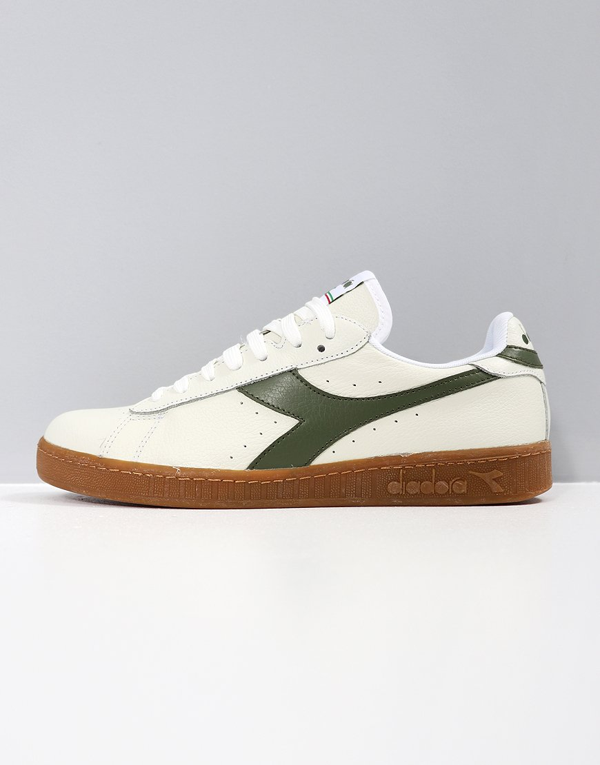 Diadora Game L Low White/Olivine