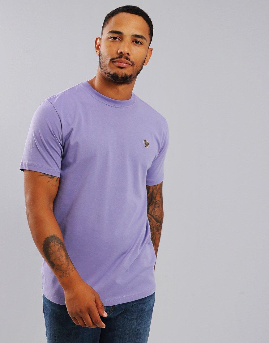 Paul Smith Zebra Logo T-Shirt Light Purple