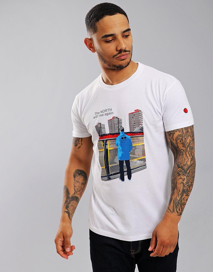 Eighties Casuals North Will Rise T-Shirt White