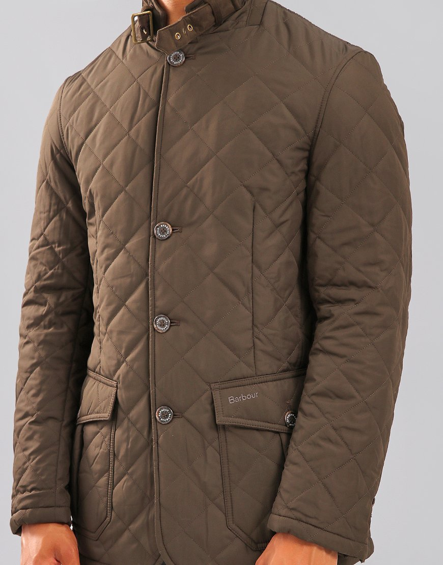 Barbour Lutz Quilted Jacket Olive