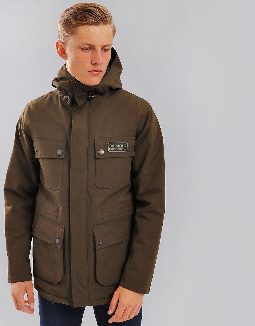 Barbour International Endo Waterproof Jacket Olive