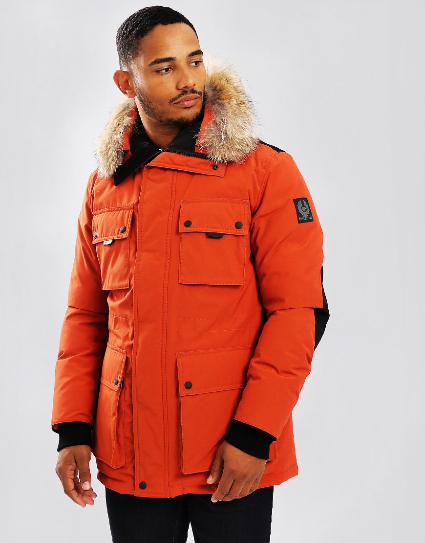 Belstaff Expedition Down Jacket Bright Tamarind