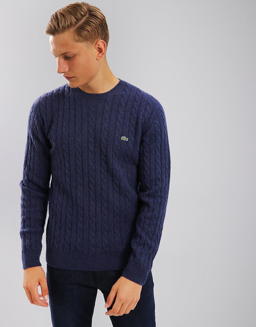 Lacoste Wool Cable Matelot