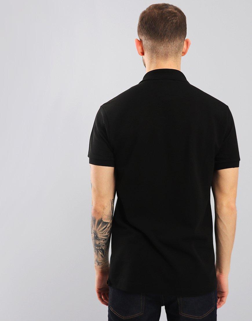 74eebaa1 Lacoste L.12.12 Best Polo Shirt Black - Terraces Menswear