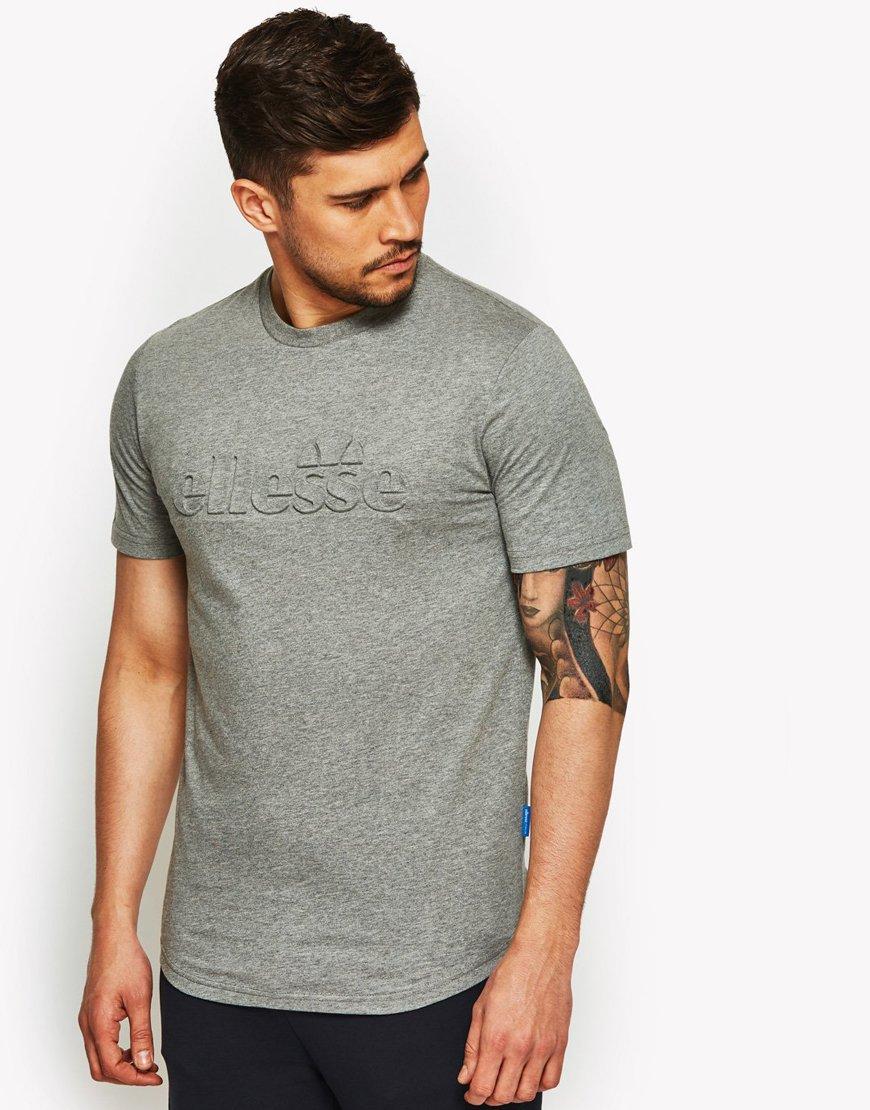 Ellesse Impresso T-Shirt Grey Marl