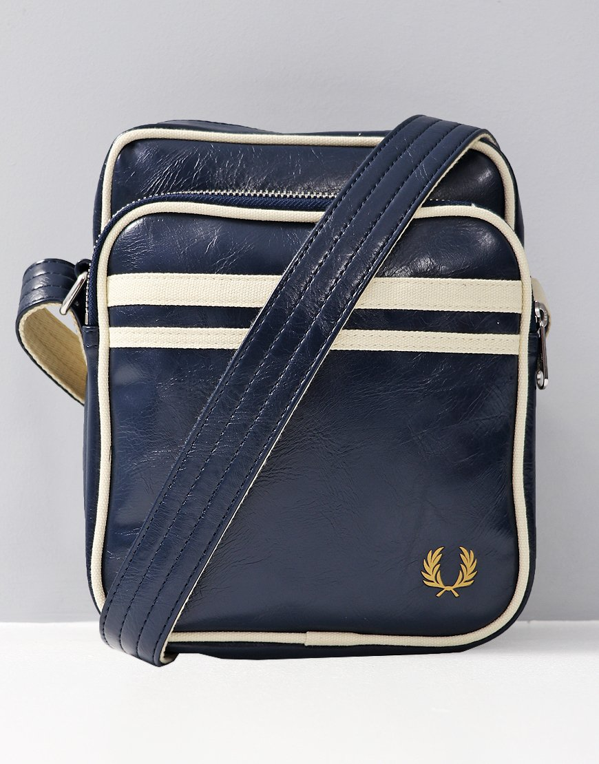 Fred Perry Classic Side Bag  Navy