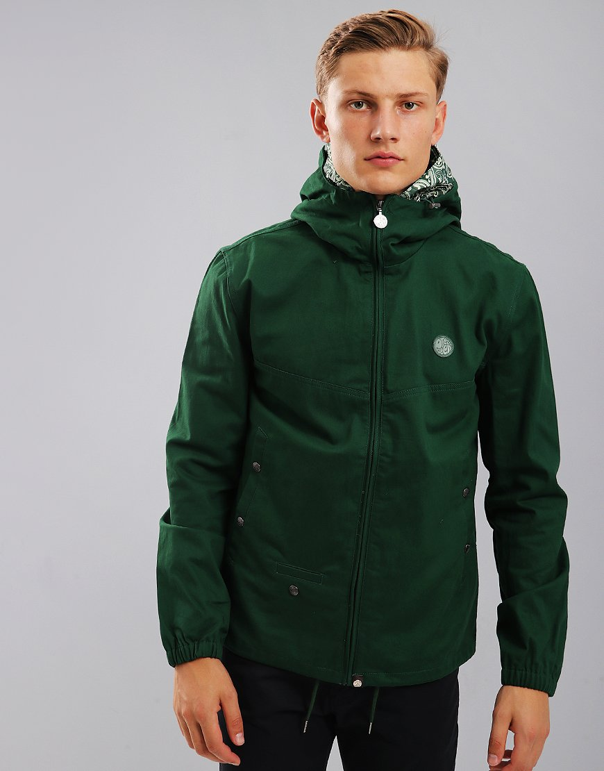 Pretty Green Beckford Hooded Jacket Green