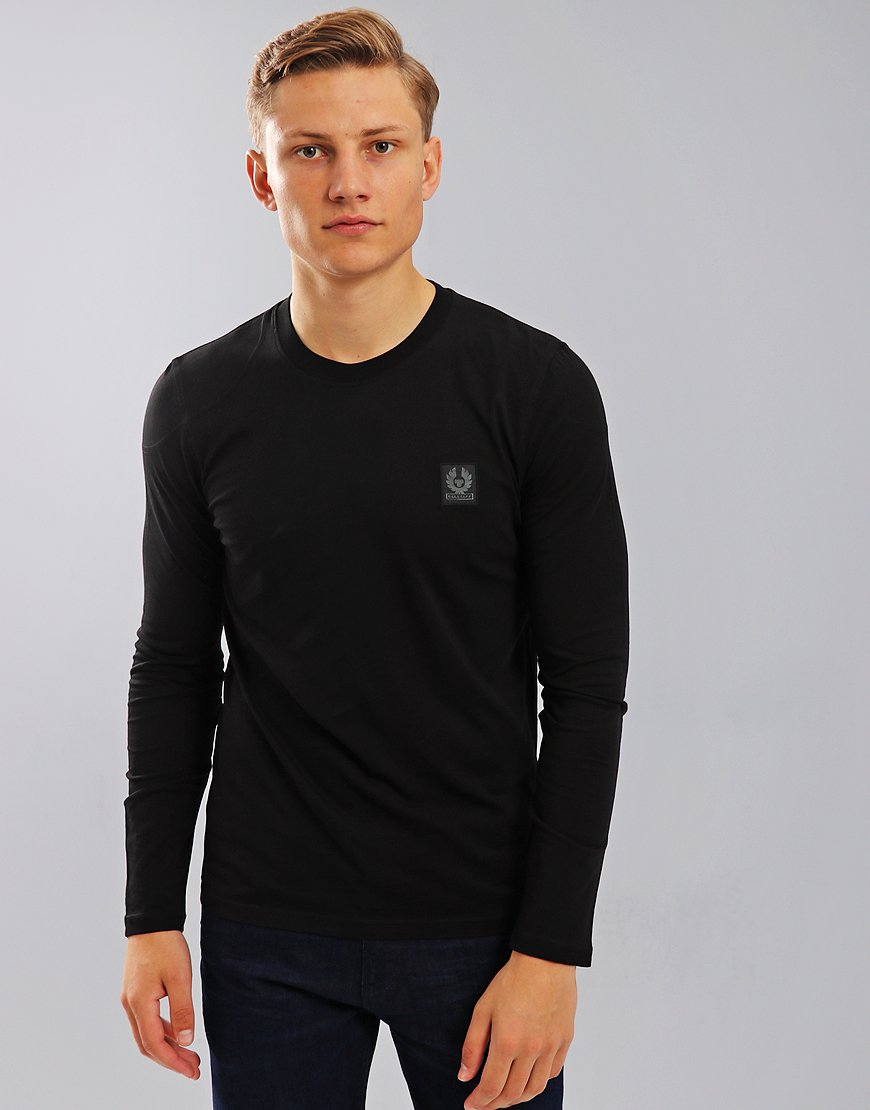 Belstaff Trenham Long Sleeve T-Shirt Black
