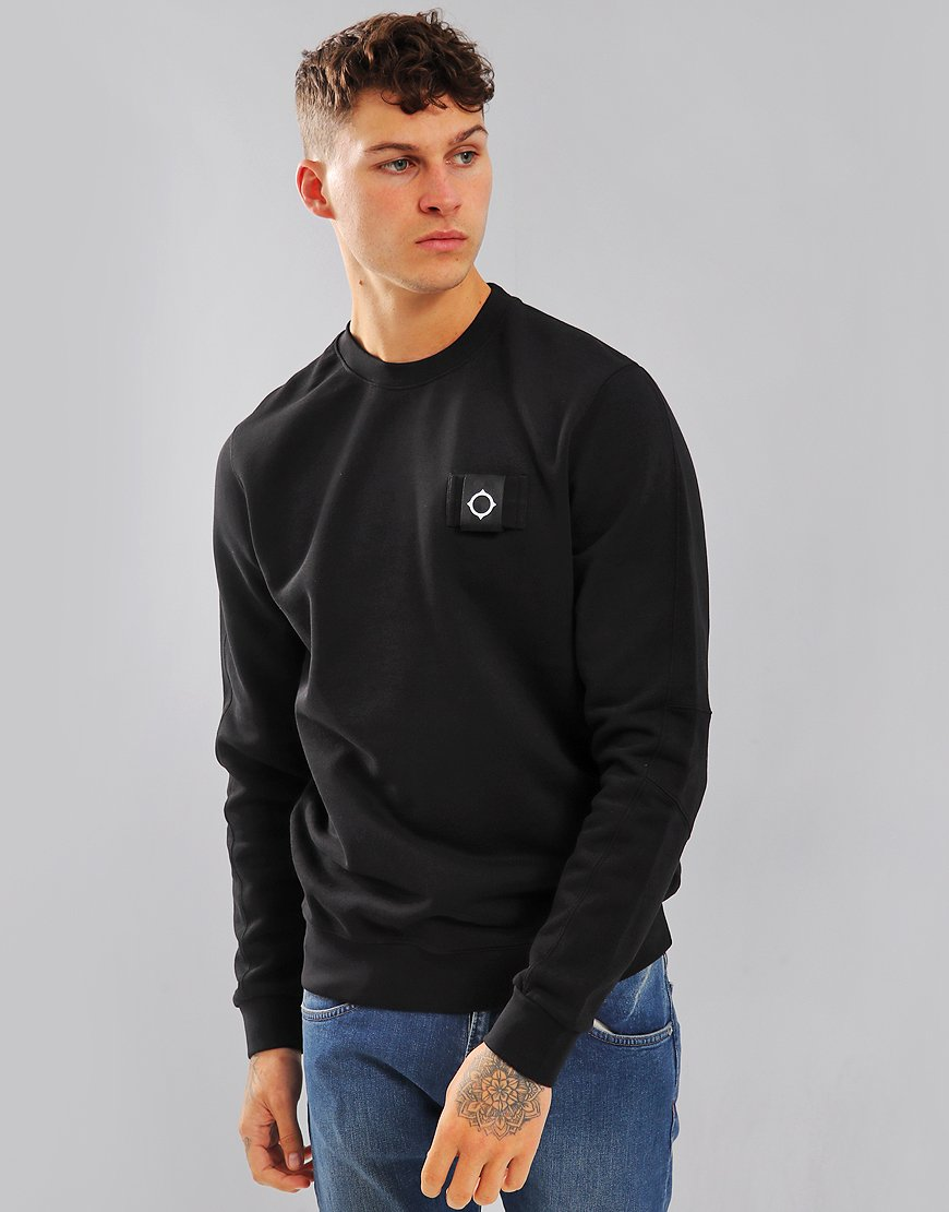 MA.Strum Training Crew Sweatshirt Black