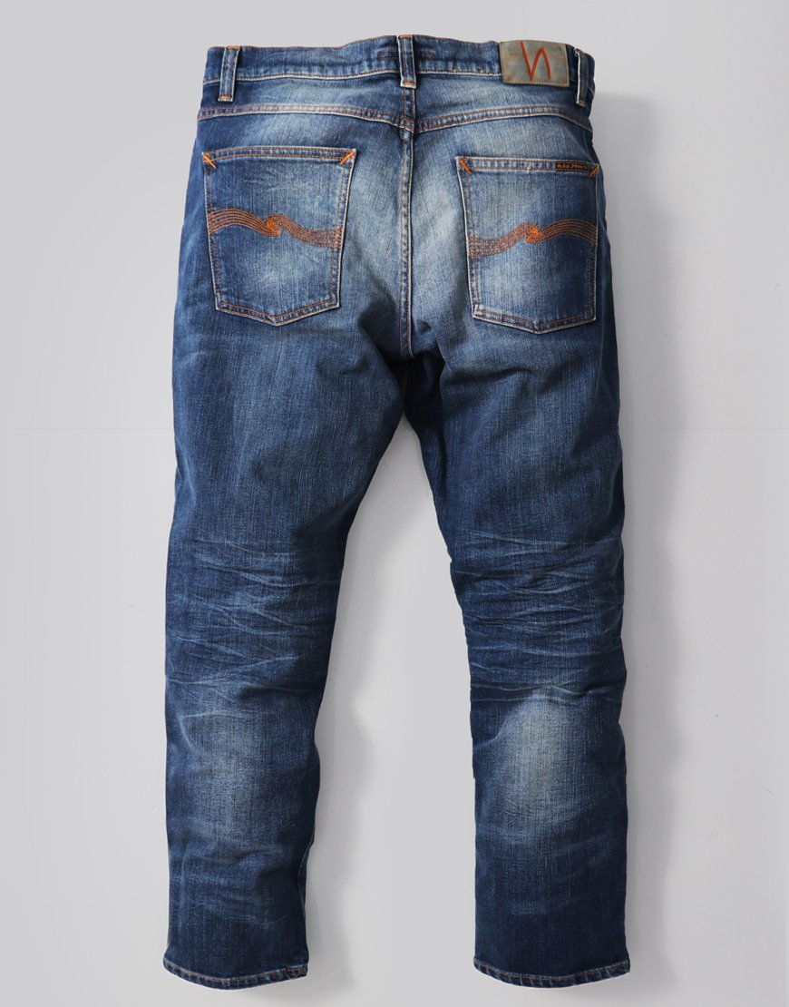 Nudie Lean Dean Slim Fit Jeans Lost Legend