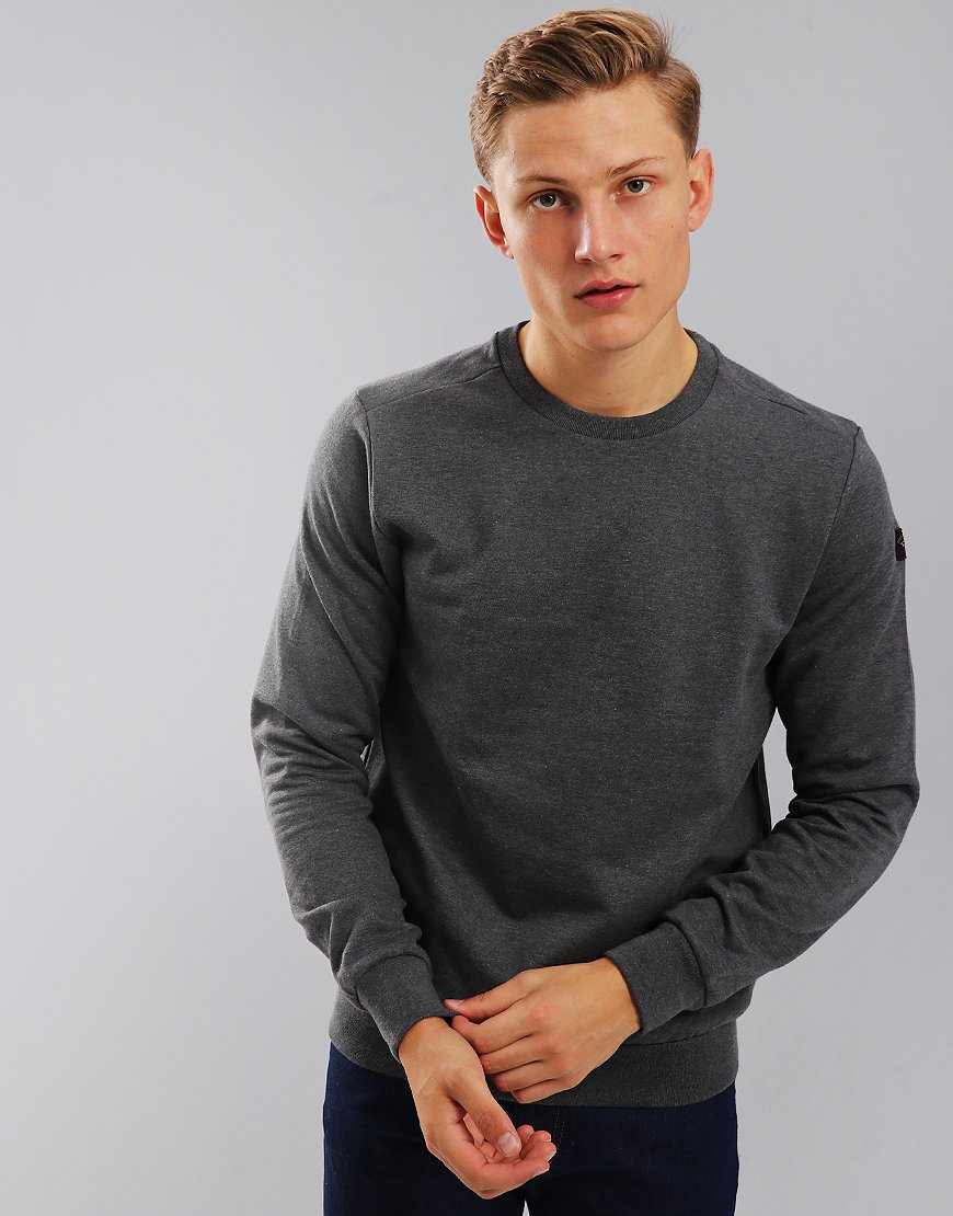 Paul & Shark Crew Neck Sweatshirt Grey