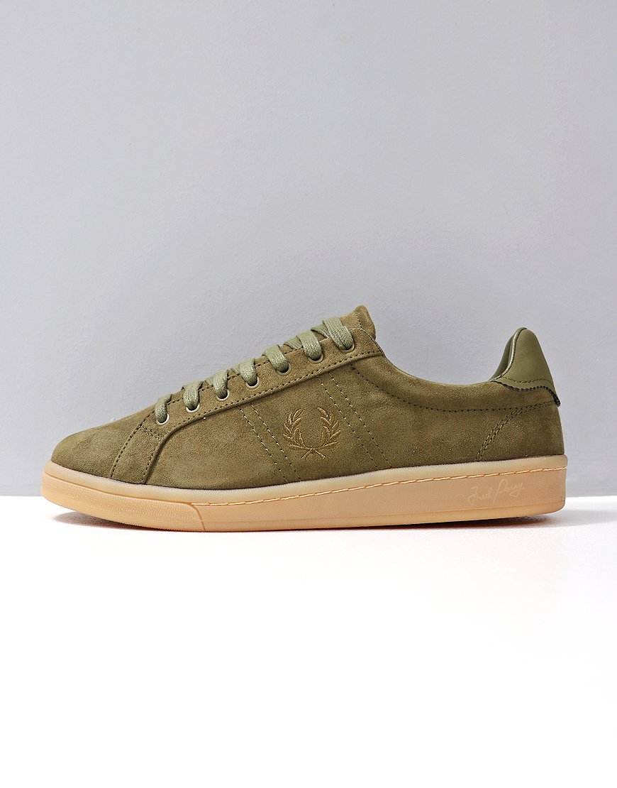 Fred Perry B721 Microfibre Burnt Olive