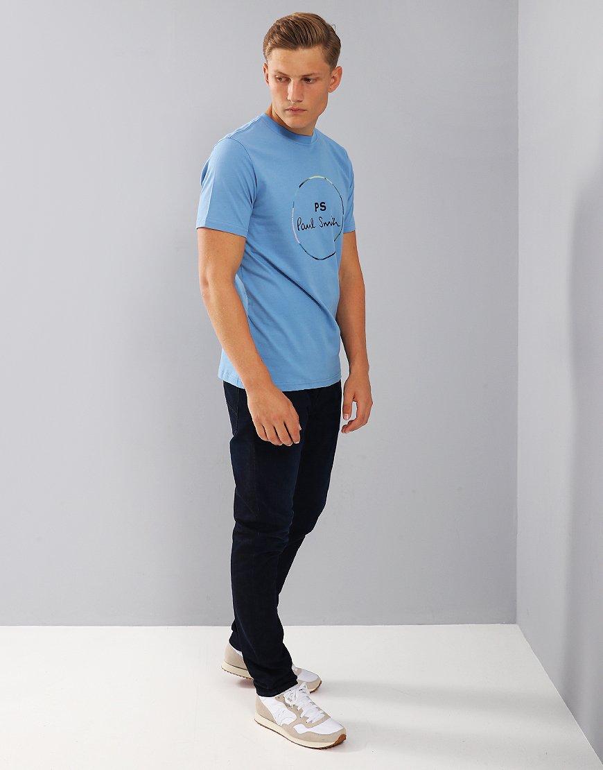 Paul Smith PS Circle Logo T-Shirt Turquoise