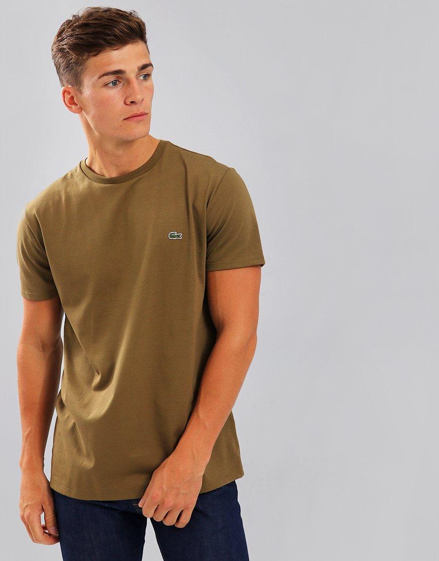 Lacoste Pima Cotton Logo T-Shirt Soldier