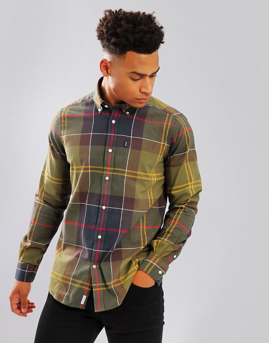 Barbour Endsleigh Long Sleeve Shirt Classic Tartan