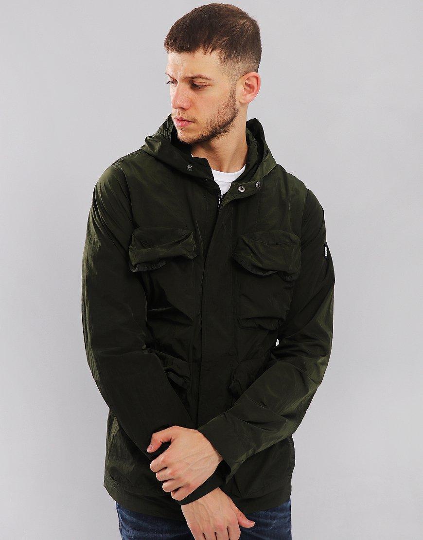 Weekend Offender Heller Parachute Field Jacket Olive