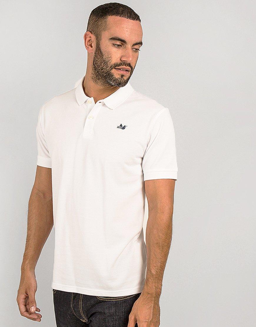 Peaceful Hooligan Classic Polo Shirt White