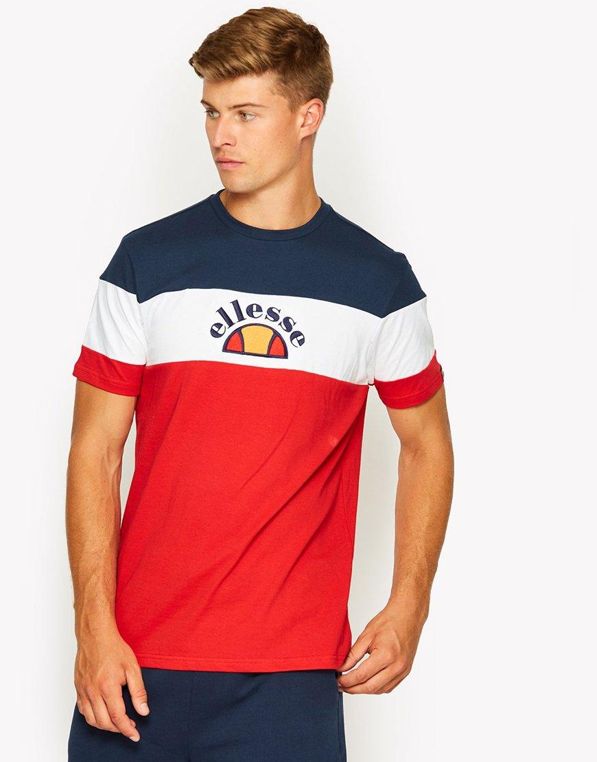 Ellesse Gubbio T-Shirt Red