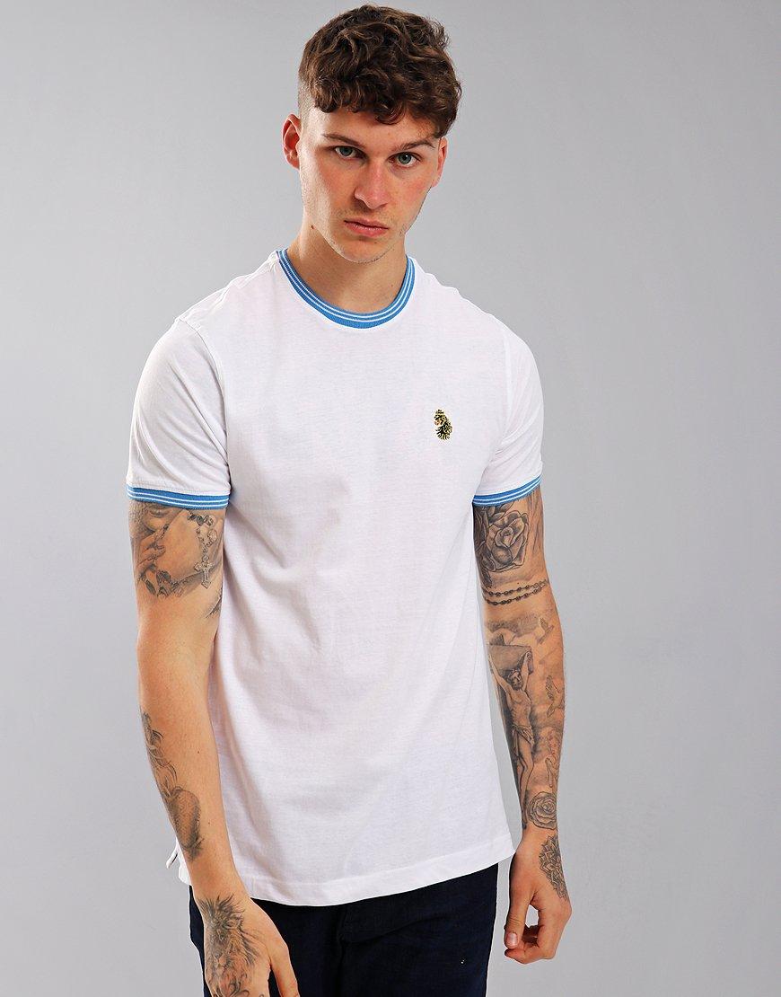 Luke 1977 Looper Tipped T-Shirt White