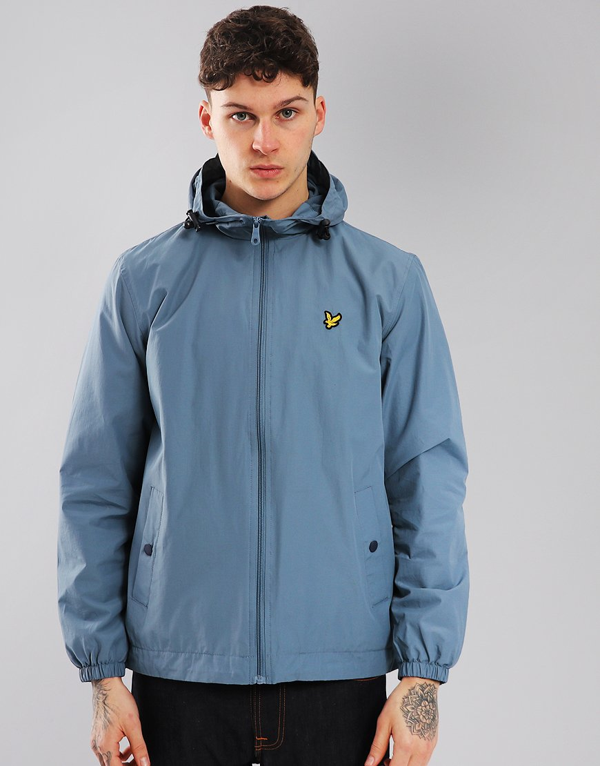 Lyle & Scott Hooded Jacket Mist Blue