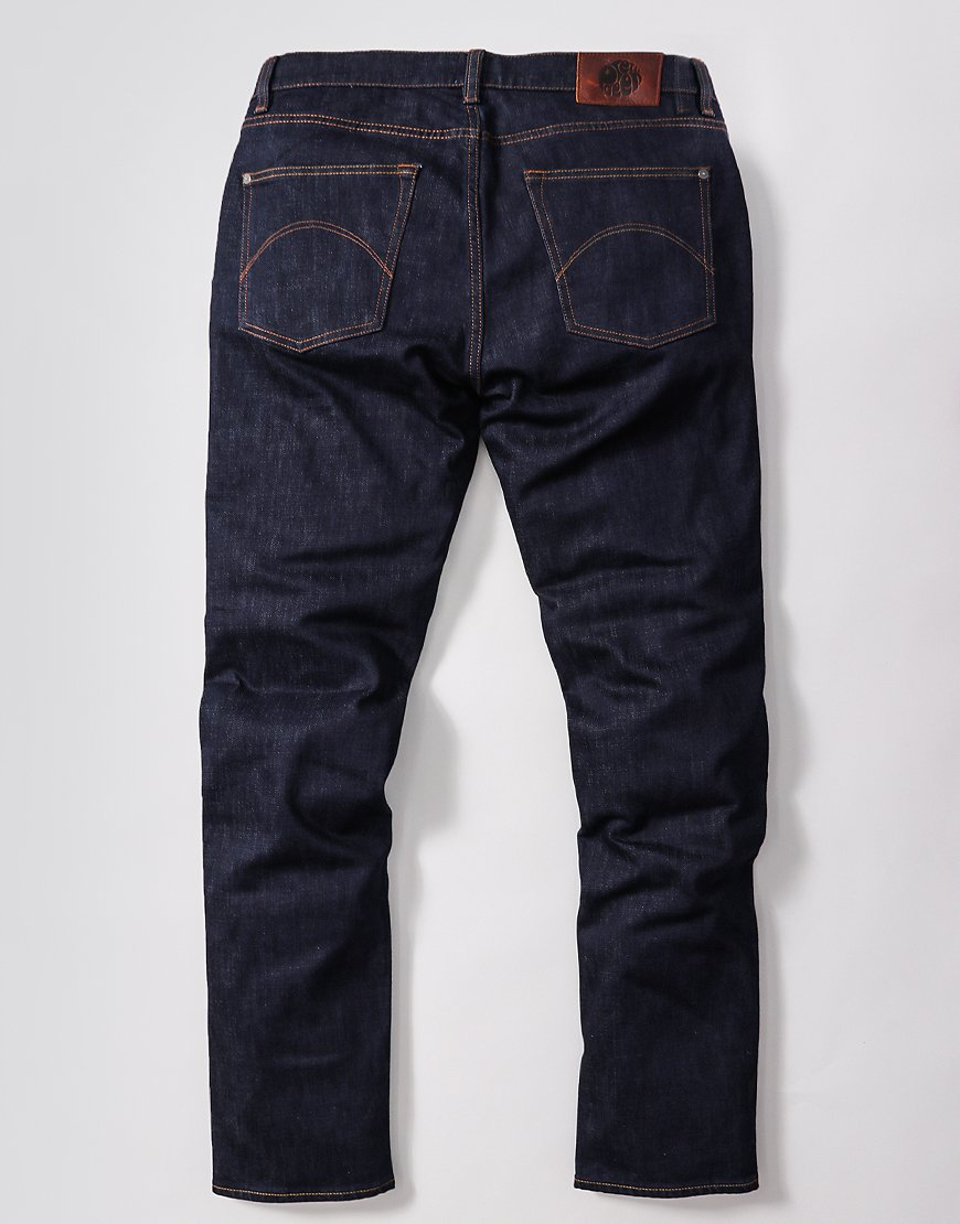 Pretty Green Erwood Slim Fit Jeans Rinse Wash