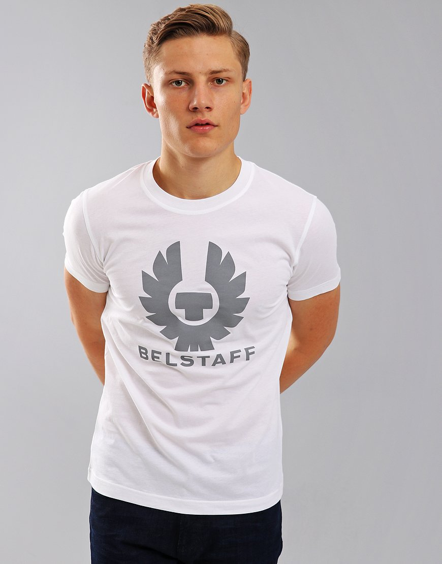 Belstaff Cranstone Phoenix Logo T-Shirt White
