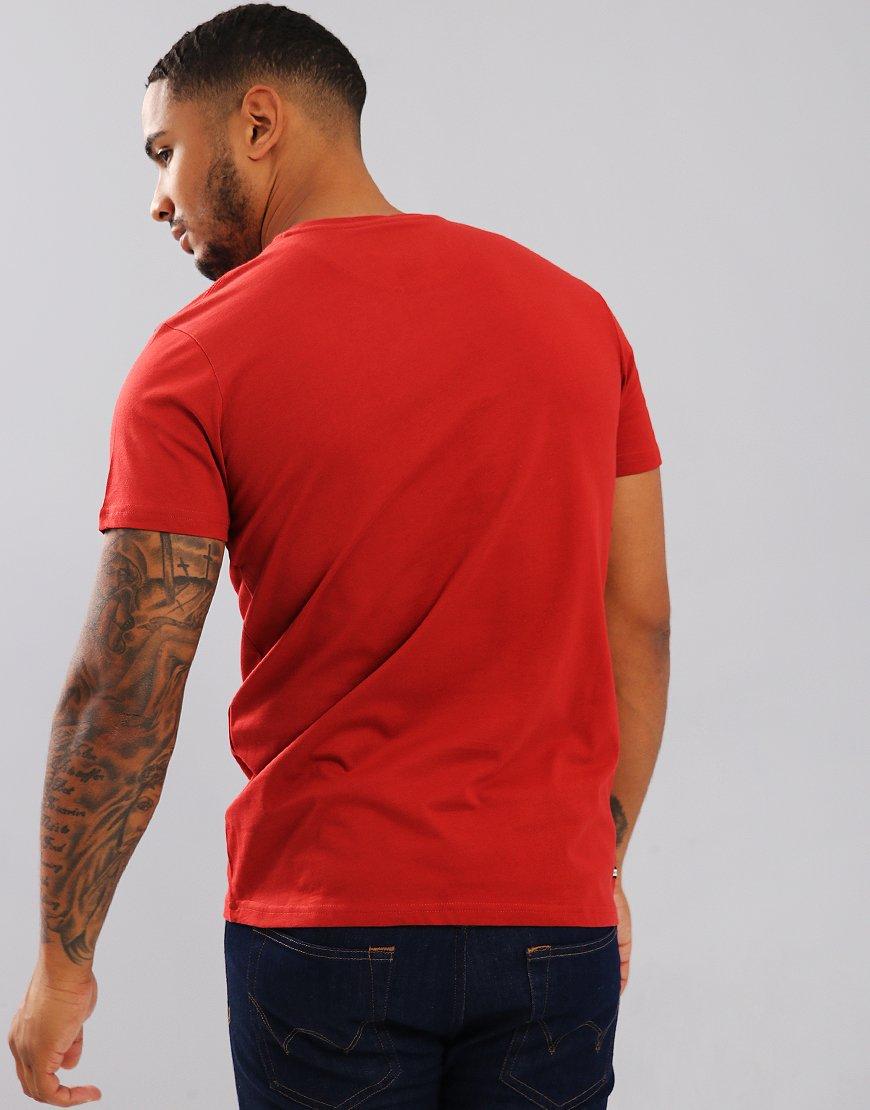 Weekend Offender Frampton T-Shirt Rust