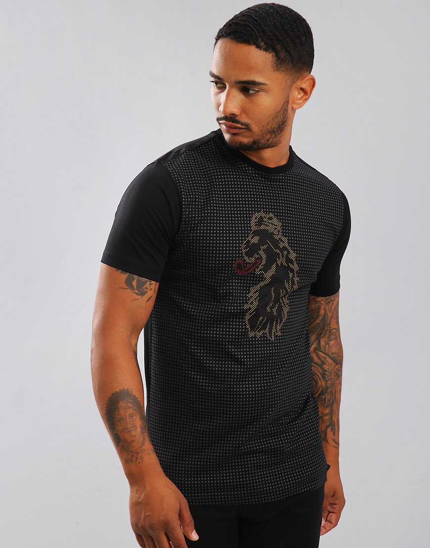 Luke 1977 Spliono Spot Print T-Shirt Black