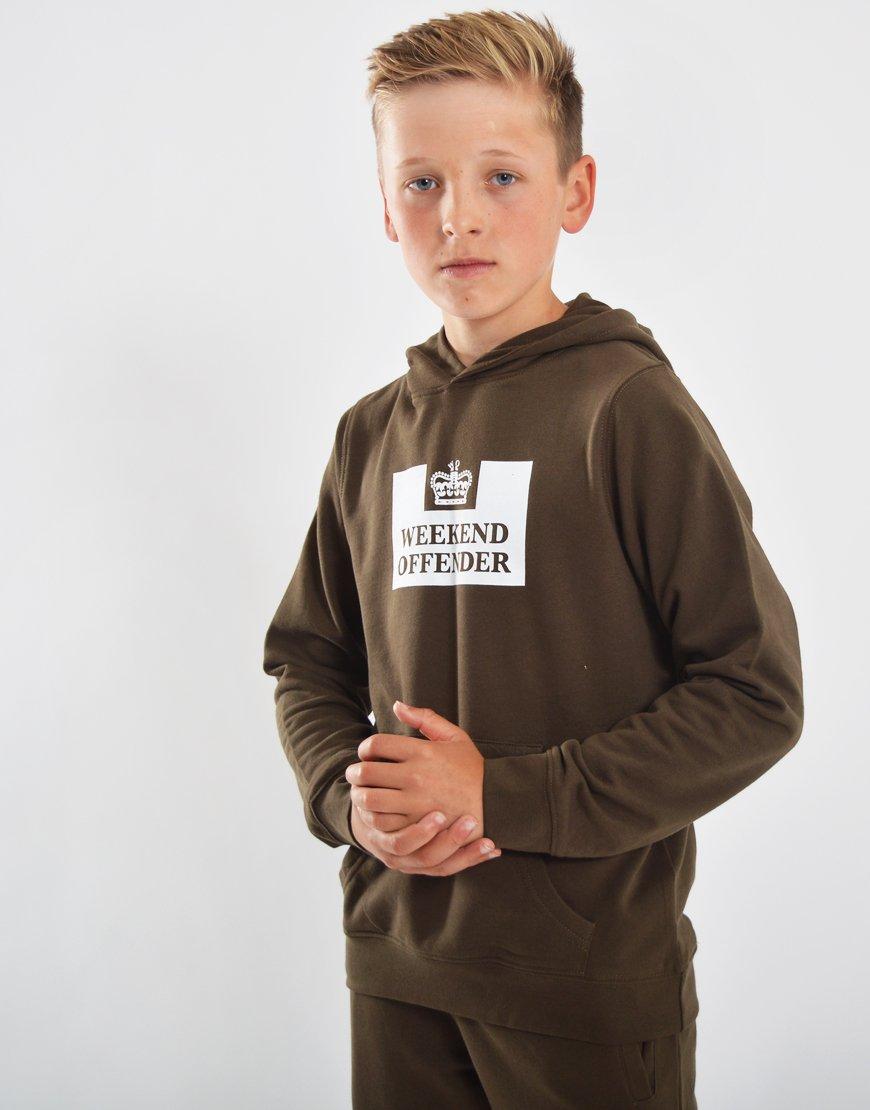 Weekend Offender Kids HM Service Hoodie Uniform
