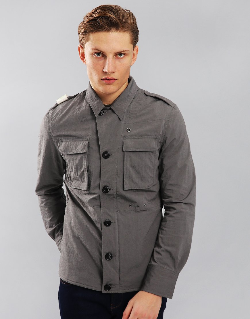 MA.Strum Special Edition Number 2 Outer Shirt Jacket Grey