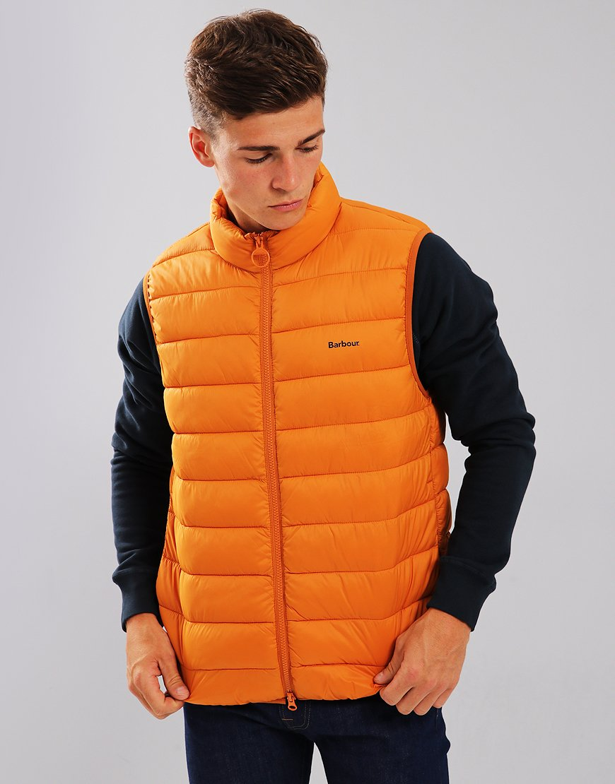 Barbour Bretby Quilted Gilet Marmalade