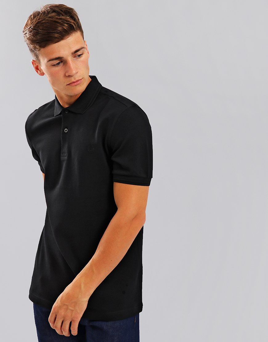 Fred Perry Twin Tipped Polo Shirt Black