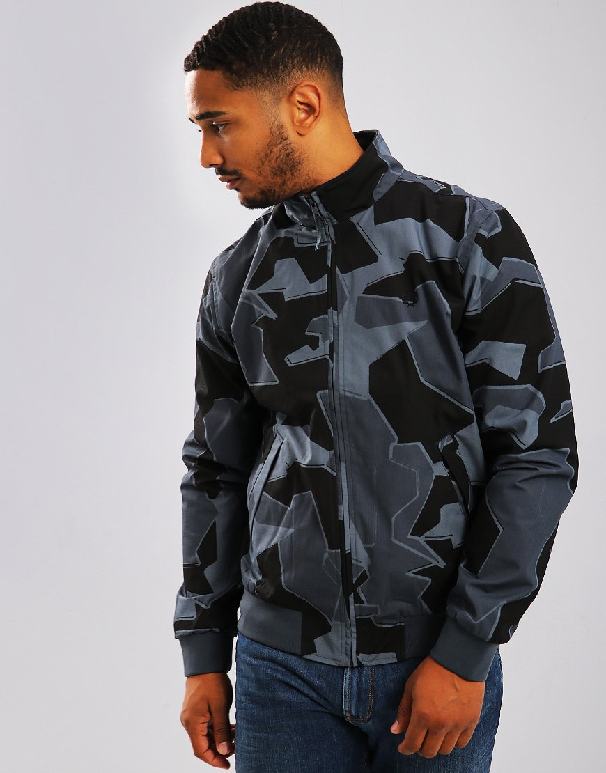 Fred Perry Arktis Brentham Jacket Airforce Camo