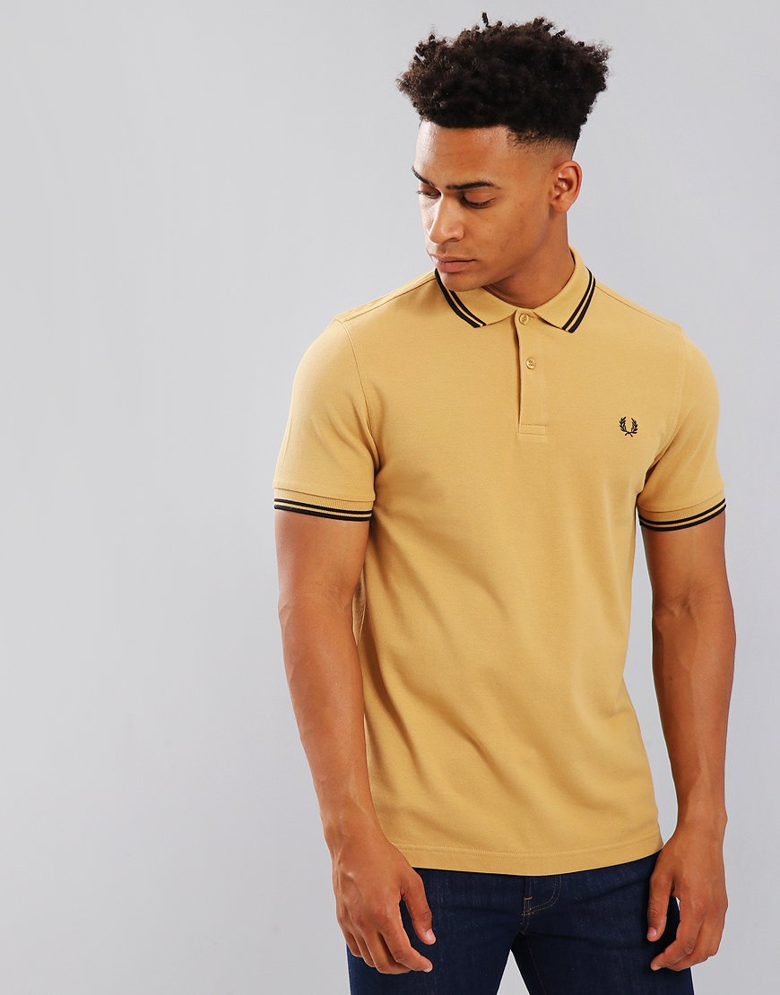 Fred Perry Twin Tipped Polo Shirt 1964 Gold