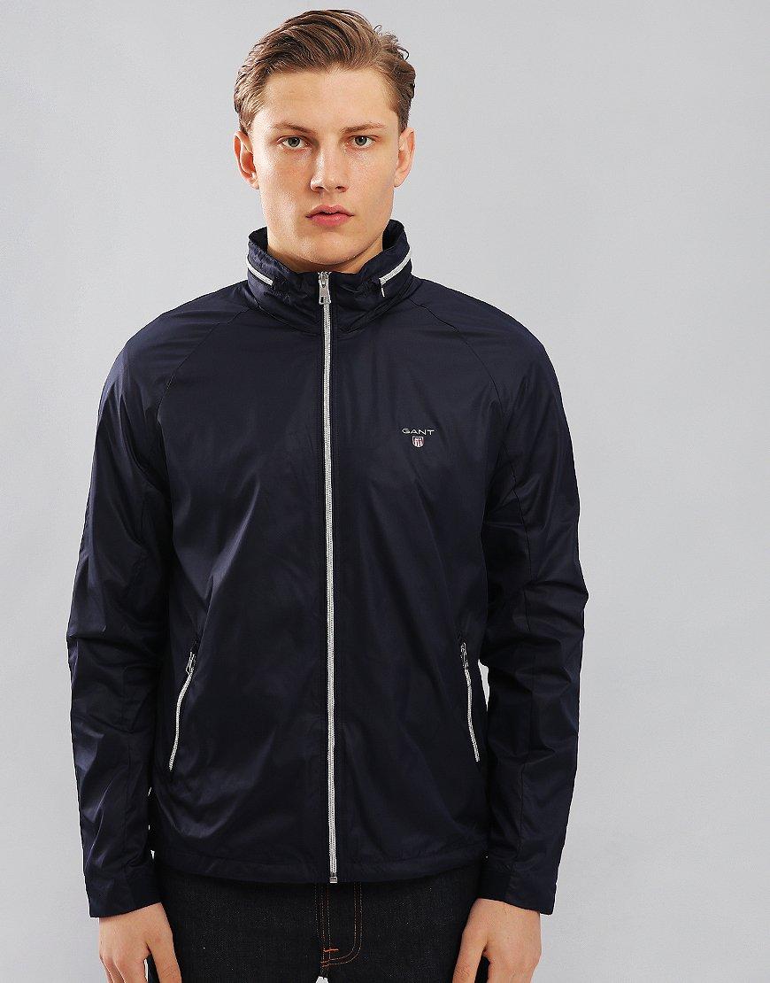 Gant Windbreaker Jacket Classic Blue