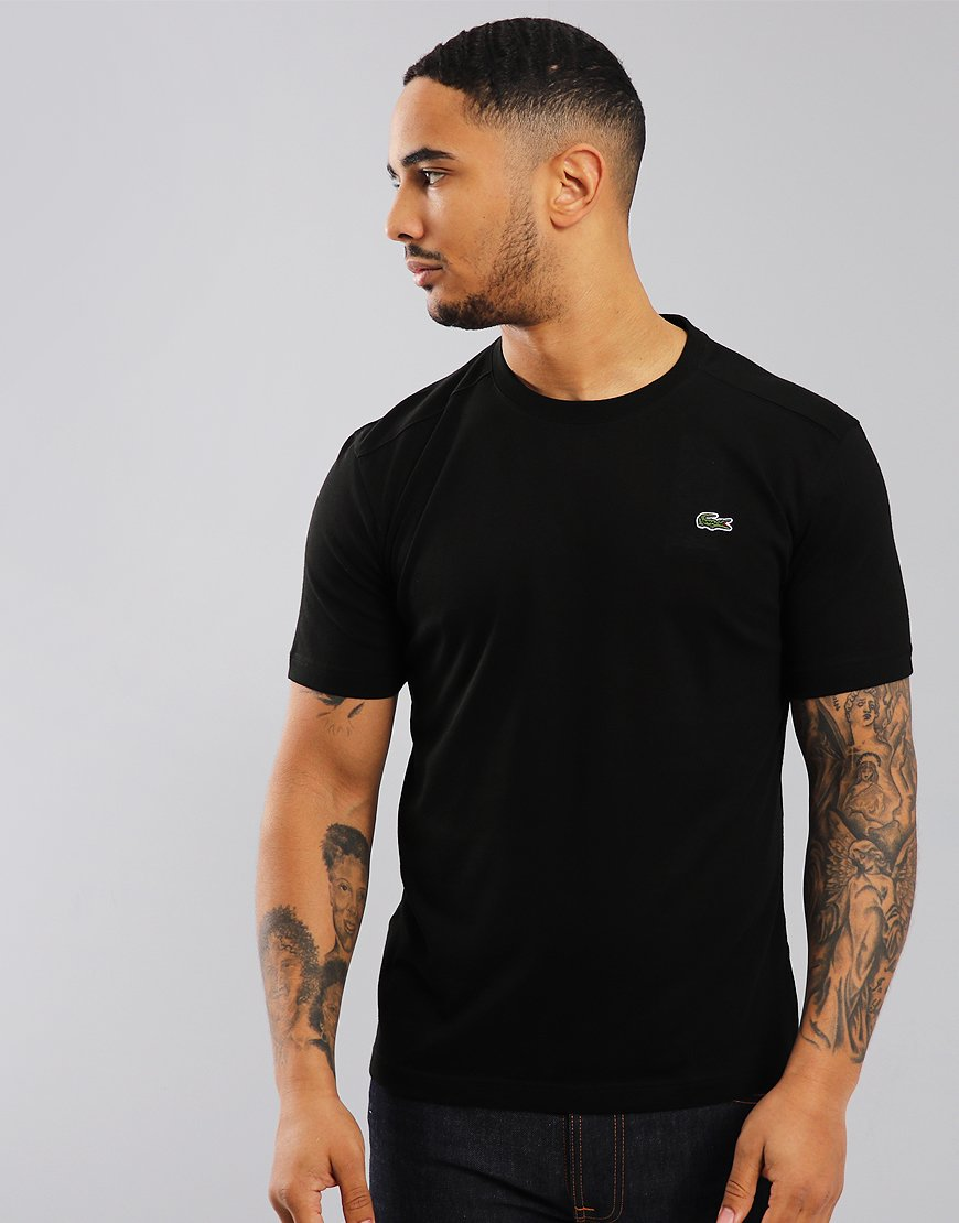 Lacoste SPORT Plain T-Shirt  Black