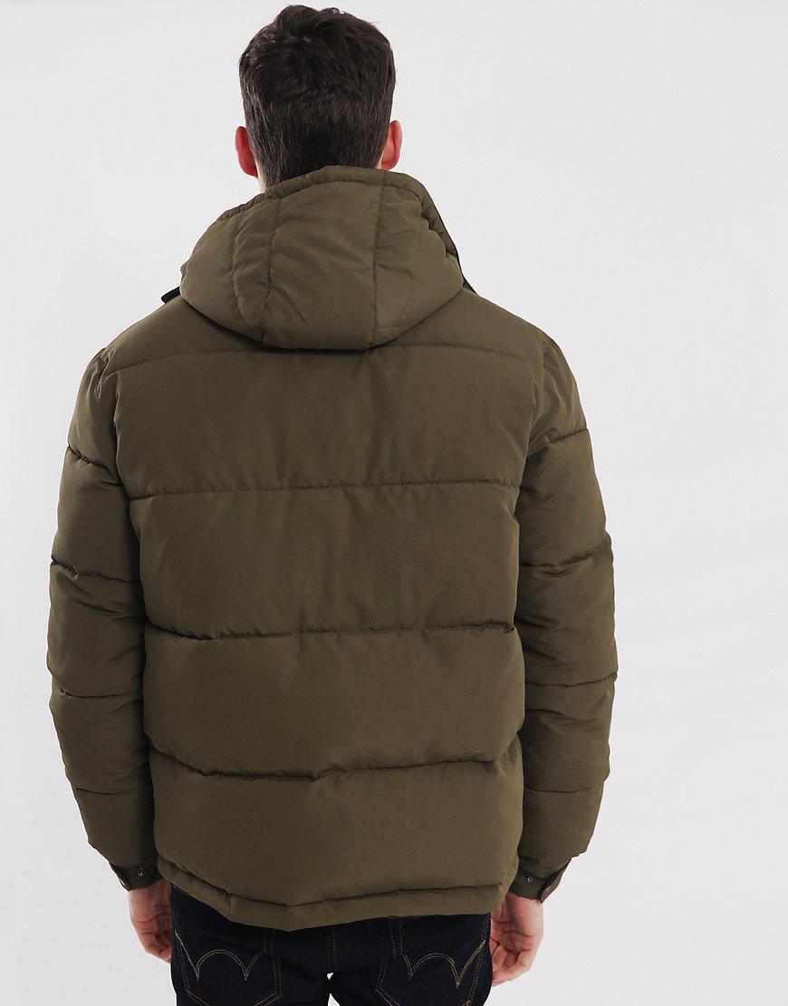 Peaceful Hooligan Birch Padded Jacket Khaki