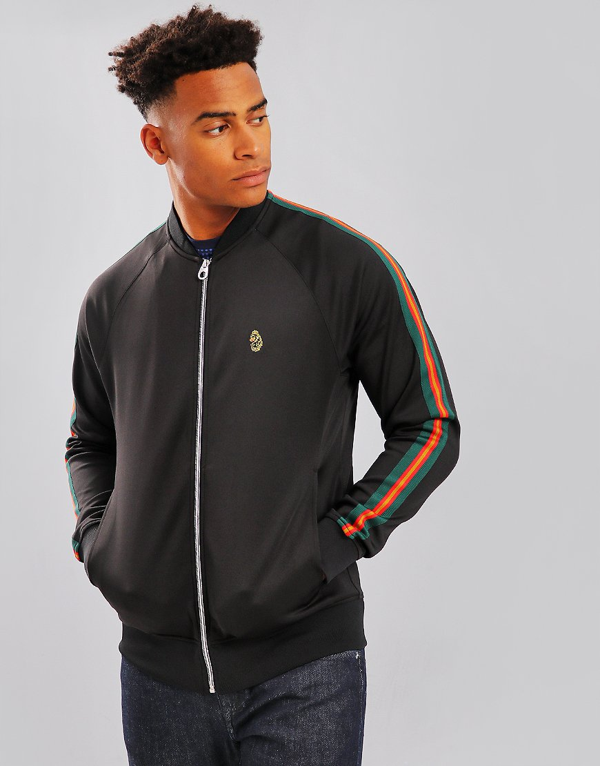 Luke 1977 Keegans Track Jacket  Black