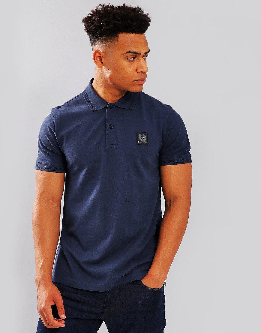 Belstaff Stannett Polo Shirt Navy