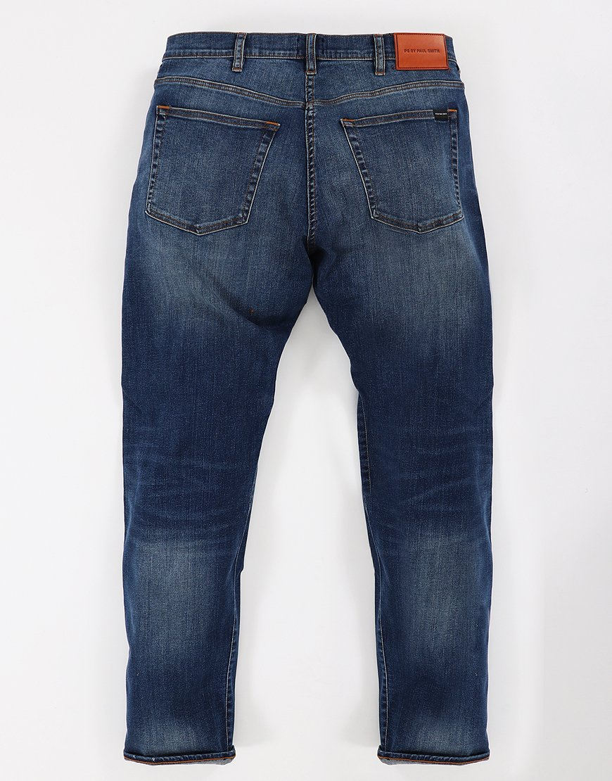 Paul Smith Tapered Fit Dark Wash Jeans