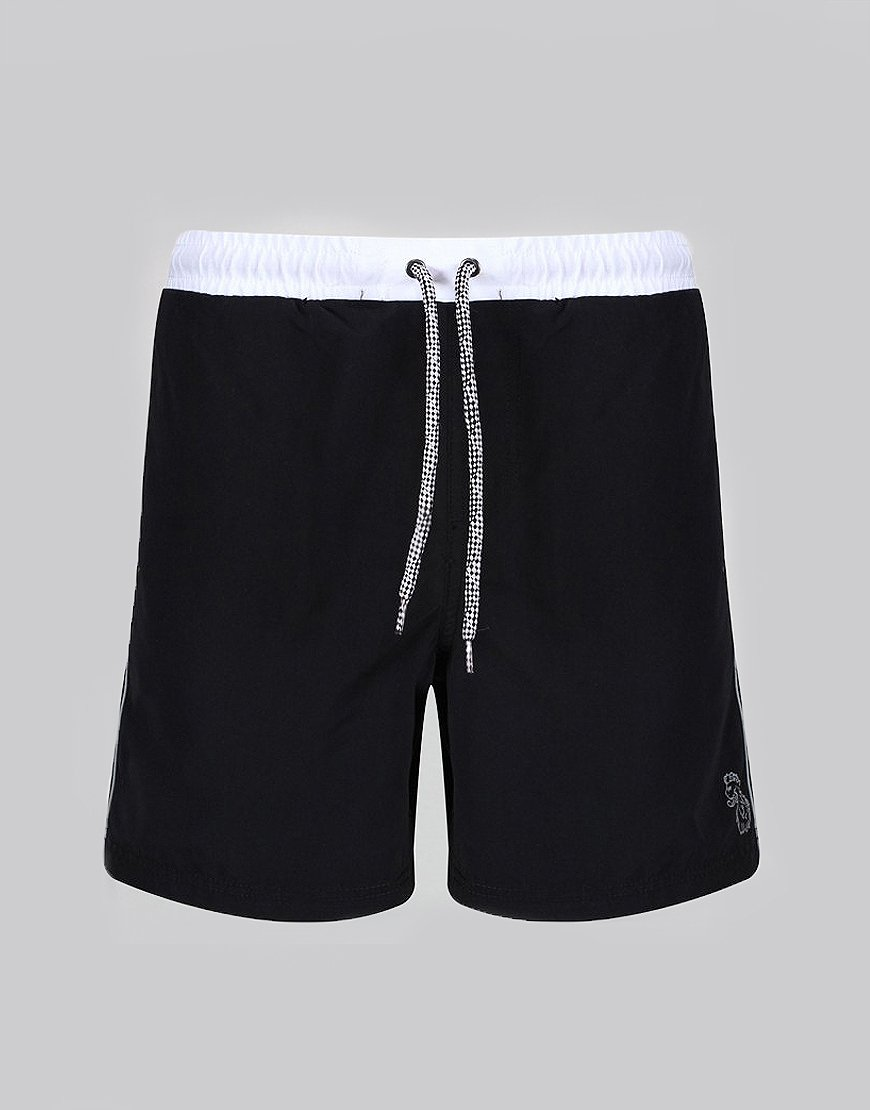 Luke 1977 Boxer Sport Swim Shorts Black