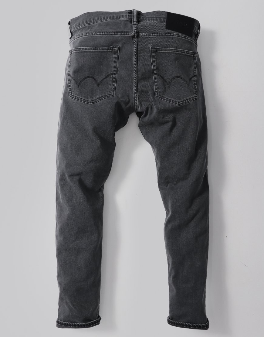 Edwin ED-85 Slim Tapered Drop Crotch CS Ink Black Denim Bristol Wash