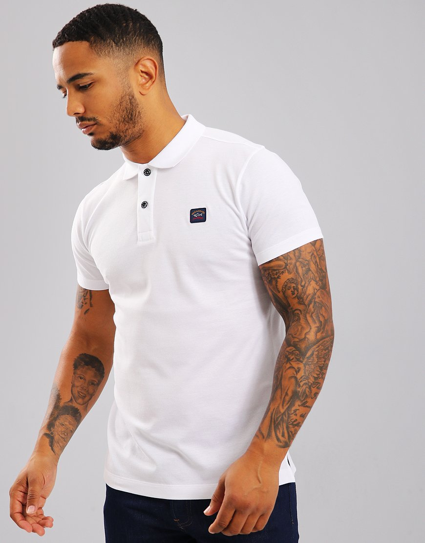 Paul & Shark Polo Shirt White