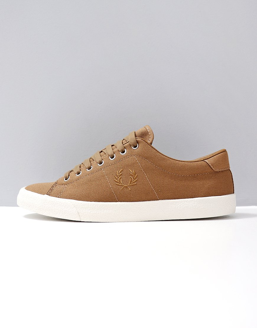 Fred Perry Underspin Canvas/Crepe Almond