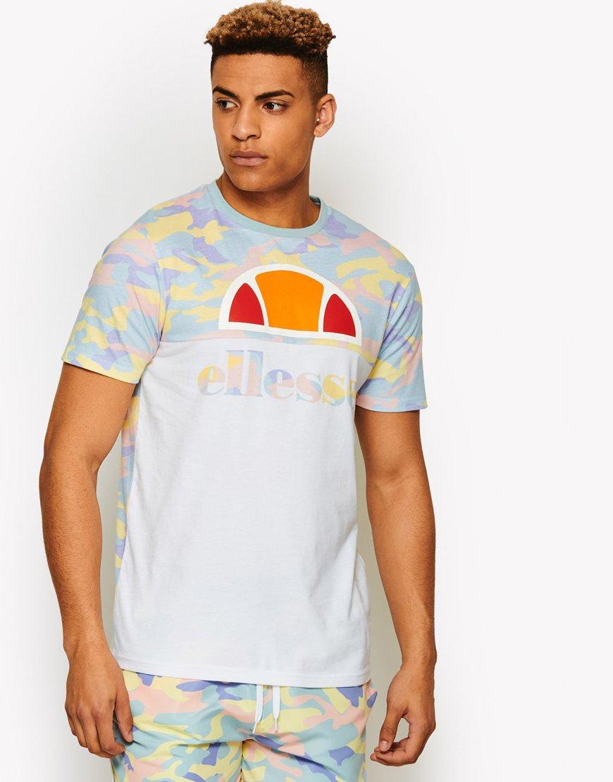 Ellesse Arbatax T-Shirt White/Camo