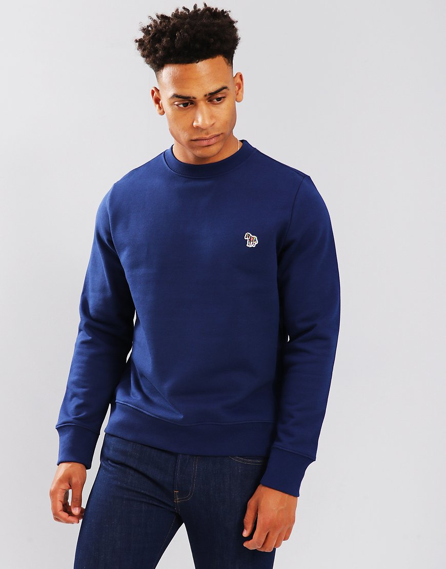 Paul Smith Zebra Logo Sweatshirt Cobalt Blue