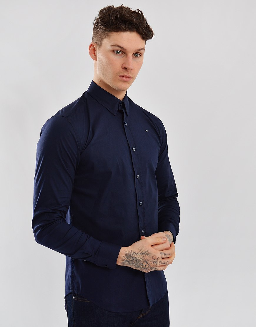 Weekend Offender Appletini Shirt Navy